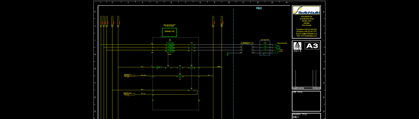 Electrical Drafting Acad Switchbuild Schematic Autocad